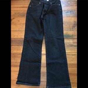 Chico's Platinum Jeans Black 0 short